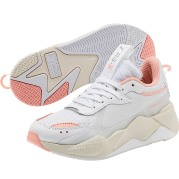 Puma Rsx Tracks Chunky Sneakers White